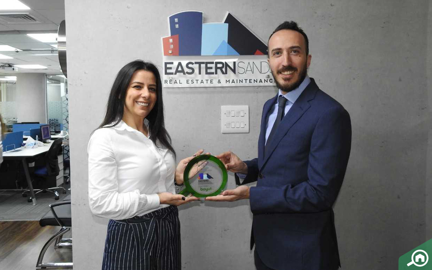 bir Nadim, CEO of Eastern Sands, receives Agency of the month award