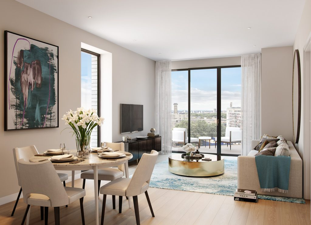 Ebury Place in Pimlico offers a range of one, two and three bedroom apartments