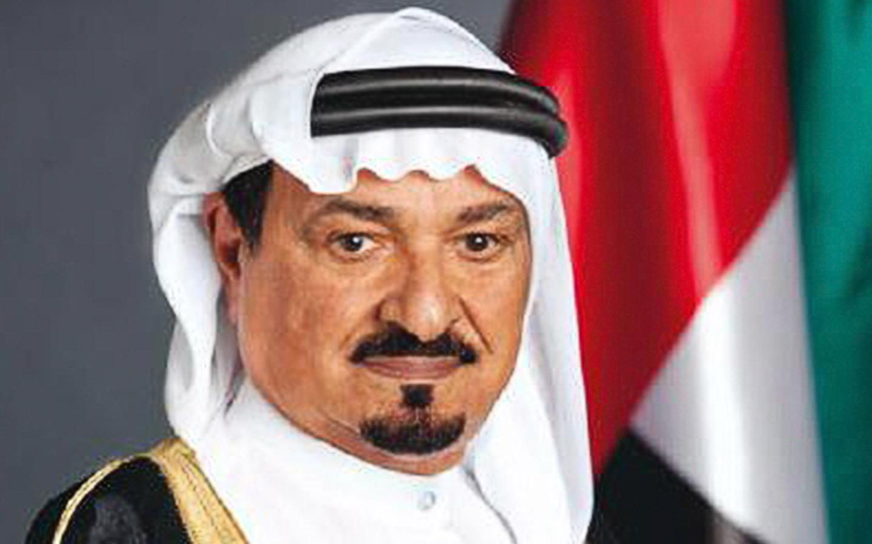 Humaid bin Rashid Al Nuaimi III is the member of the uae supreme council of the union