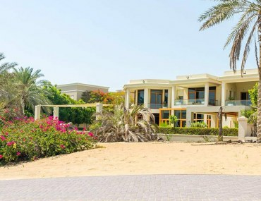 View of a house for sale in Emirates Hills