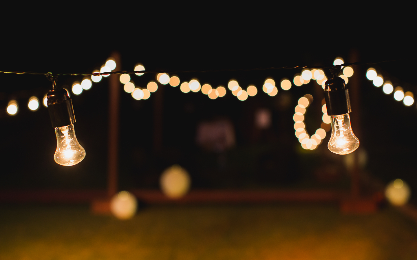 Mood lighting is a great way to create the right atmosphere in the luxury resort in your backyard