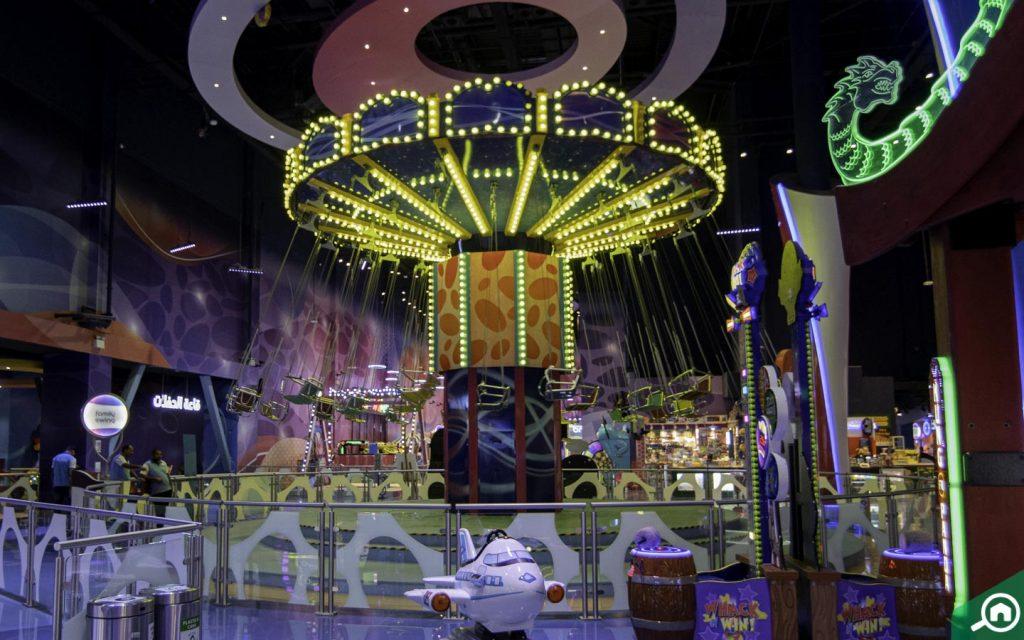 Family Swing Ride in Fabyland Dubai
