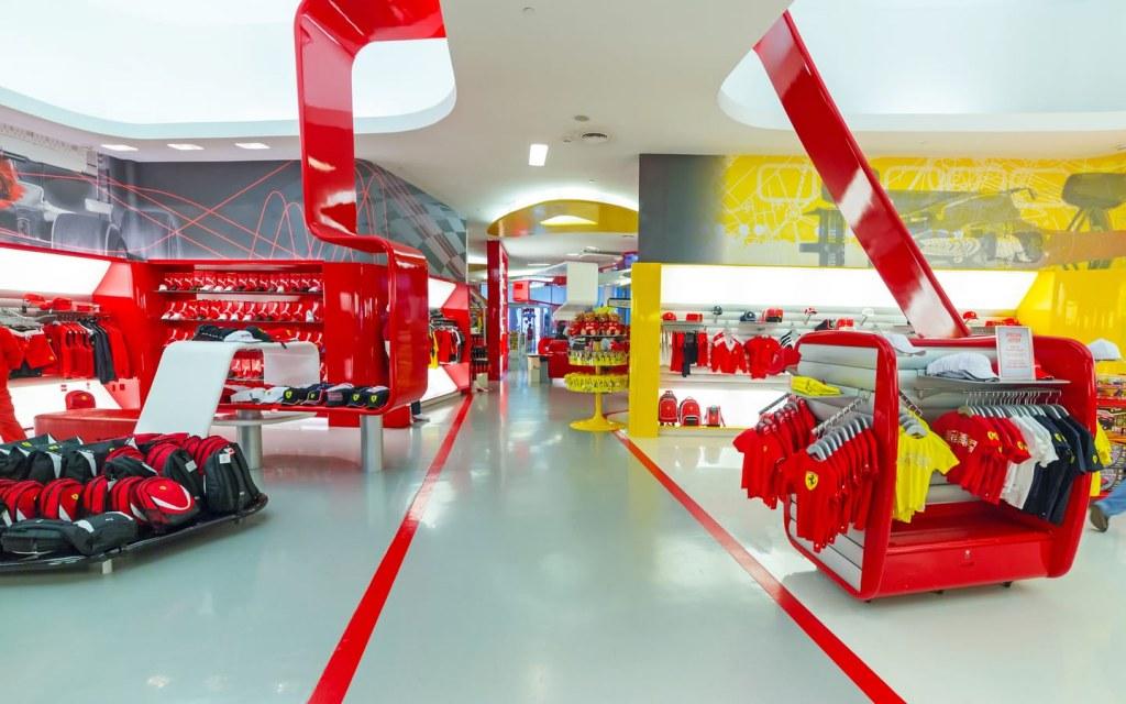 Stores in Ferrari World