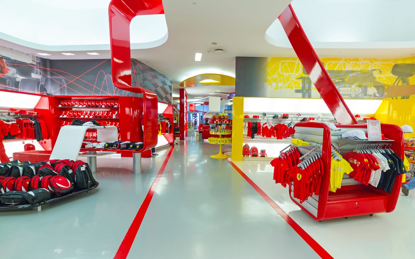 Stores in Ferrari World