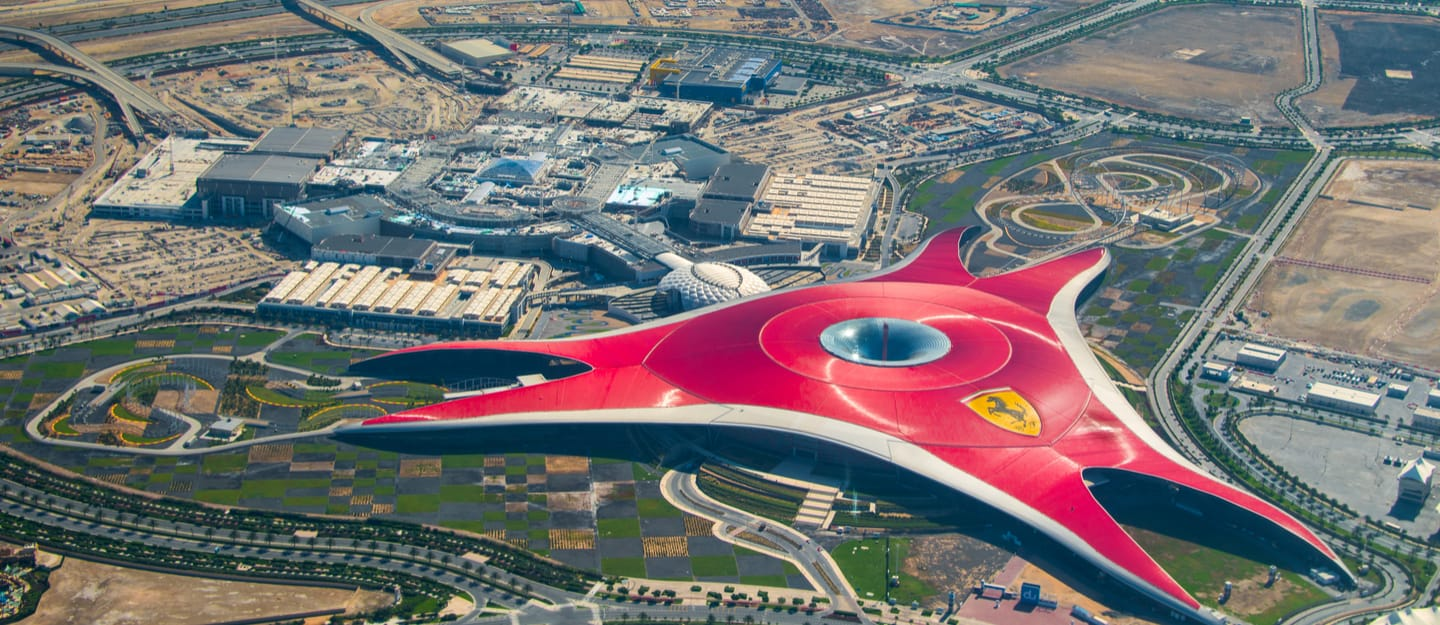 Review of Ferrari World Abu Dhabi Rides, Tickets, Timings