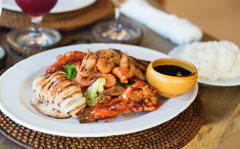 مأكولات بحرية فلبينية
