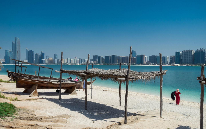 A fishing spot in Abu Dhabi