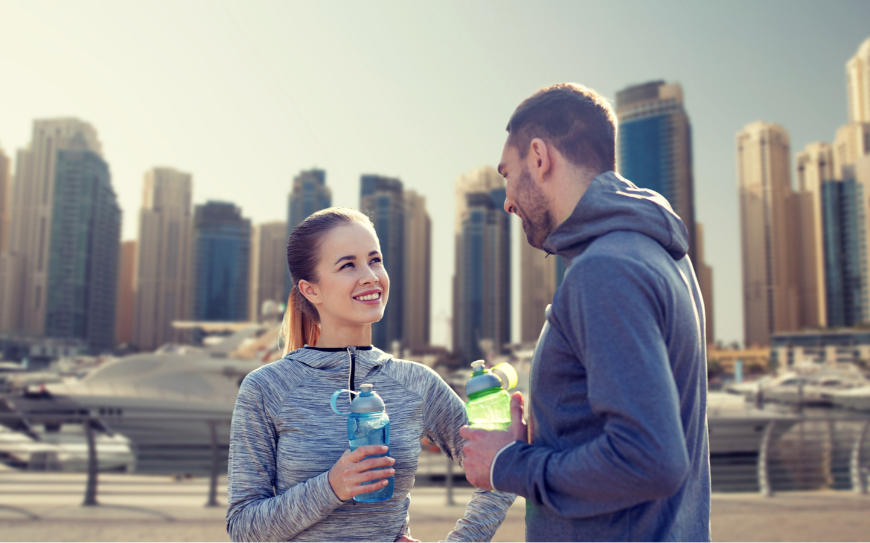 Fitness Challenge in Dubai
