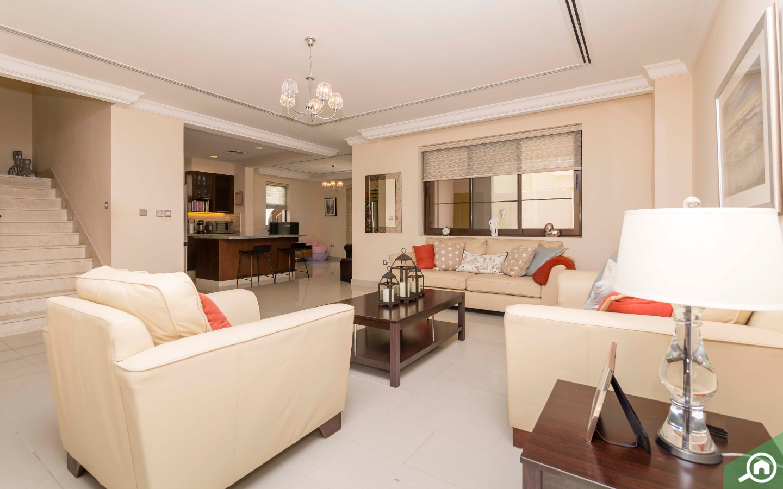 Living room in Casa Villa for sale in Arabian ranches 2