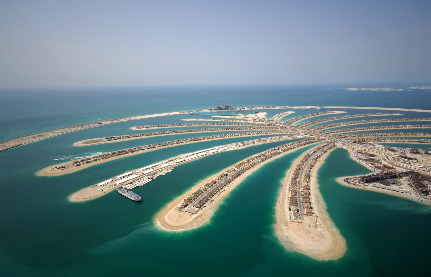 Freehold property in Palm Jumeirah