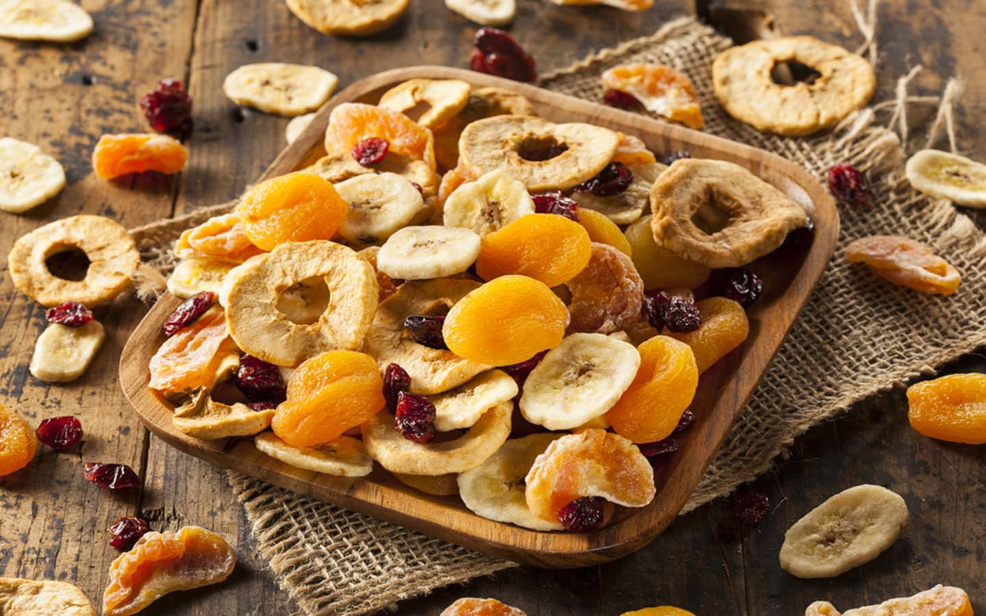 fresh and dry fruits