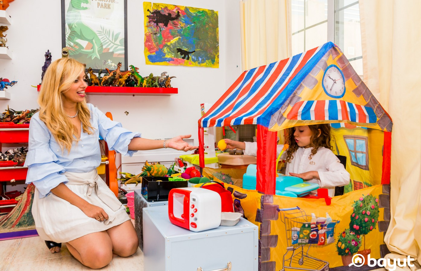 Children's play areas in houses in dubai