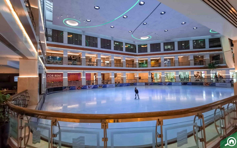 Galleria Ice Rink in Dubai