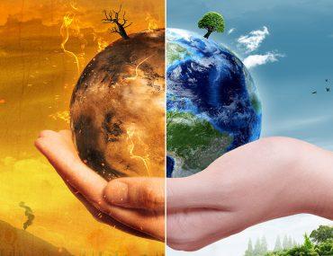 تأثير الاحتباس الحراري على الكرة الأرضية
