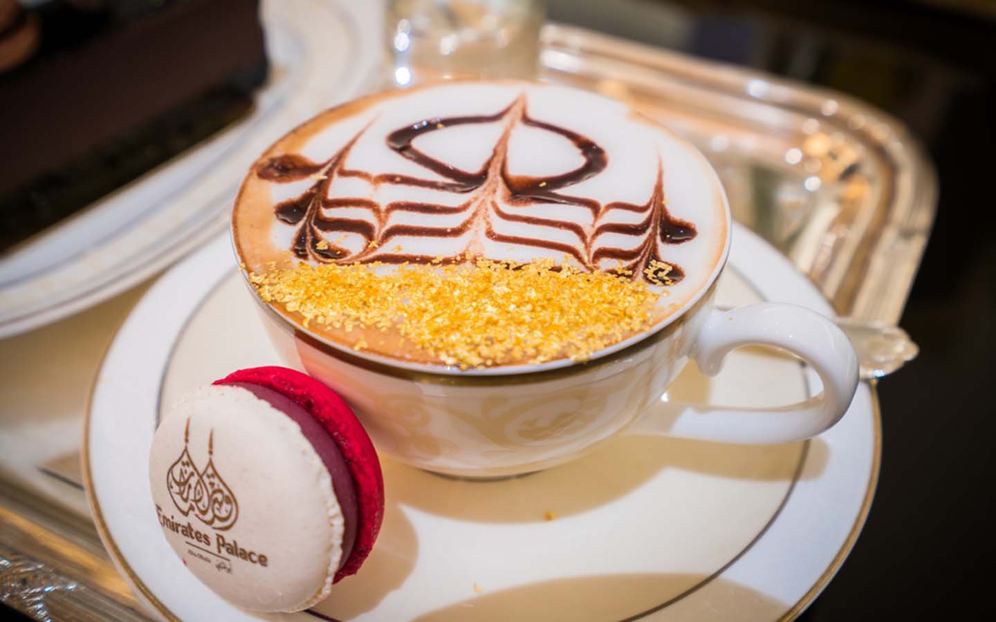 gold coffee at emirates palace