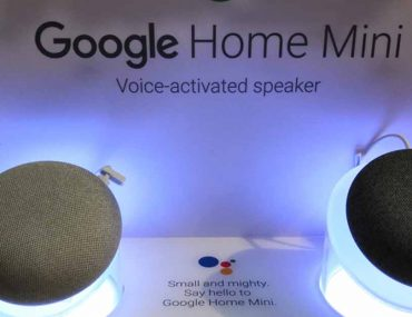 Google voice-activated speaker