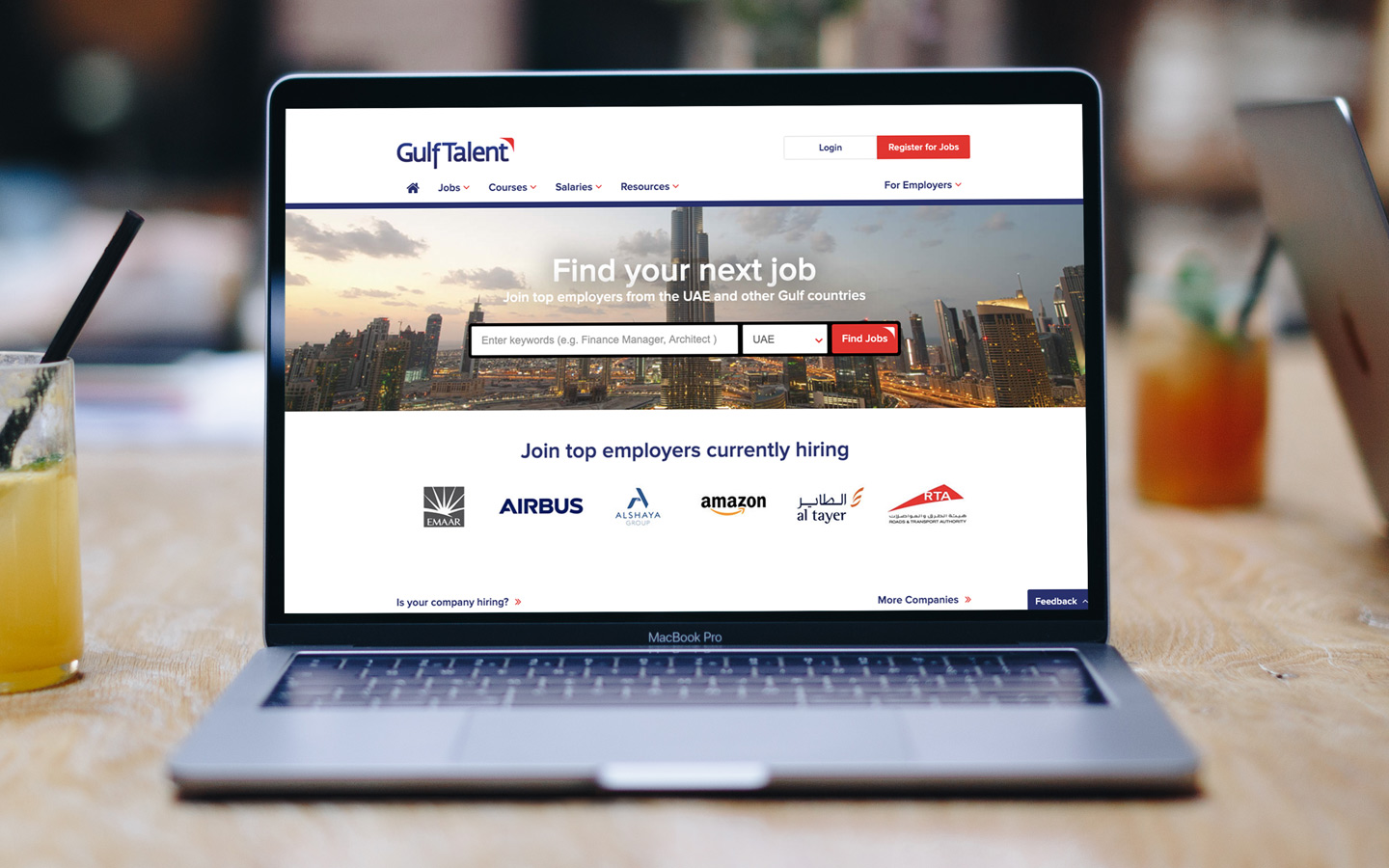 Gulf Talent Website is the best in the UAE