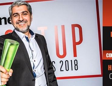 حيدر علي خان يفوز بجائزة رجل العام من أريبيان بزنس