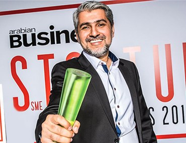 CEO of Bayut Haider Ali Khan wints Arabian Business StartUp Award