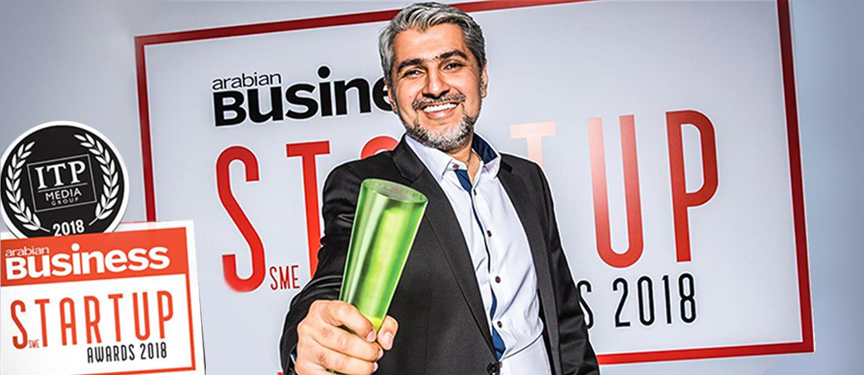 CEO of Bayut Haider Ali Khan wints Arabian Business StartUp Award