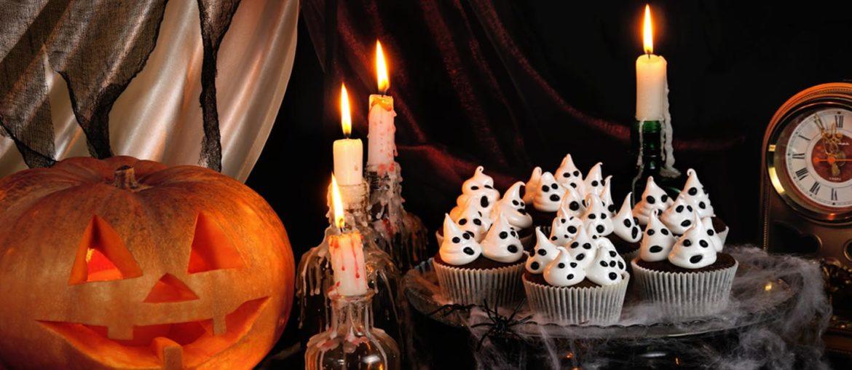 Halloween-themed brunch