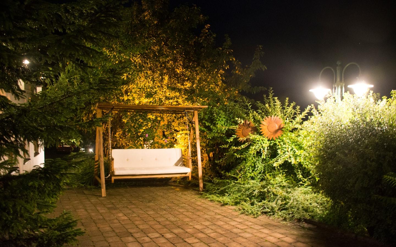 An easy backyard resort idea is to add a hammock