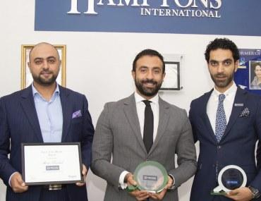"""دبي: """"هامبتونز إنترناشيونال"""" للعقارات تفوز بجائزة بيوت للوكالة المثالية في أكتوبر 2018"""