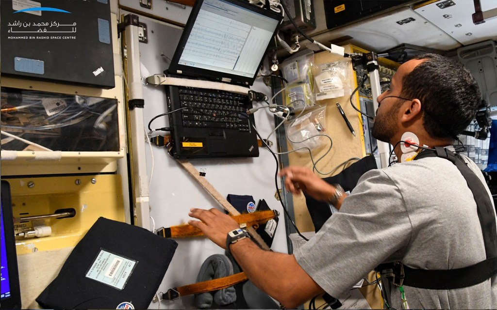 first emirati astronaut in space