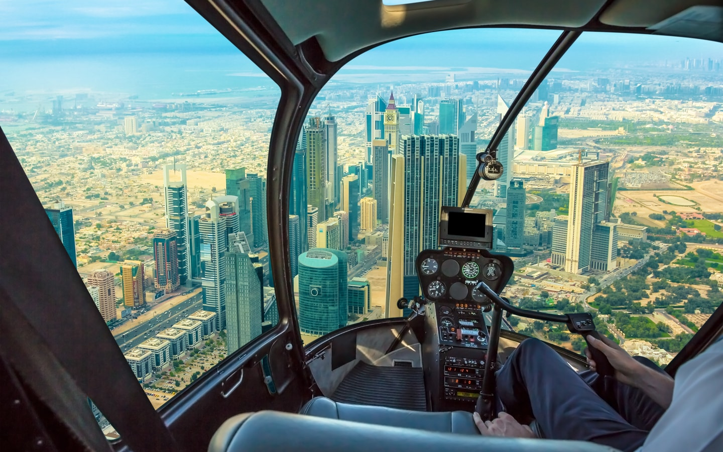 Only in Dubai can you book a helicopter