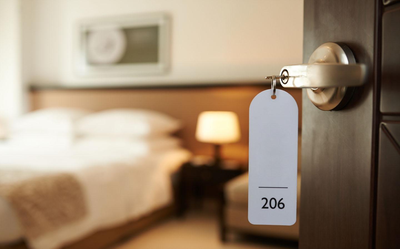 غرفة في فندق