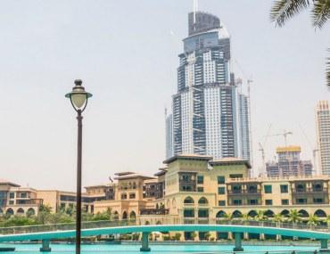 Downtown Dubai in the morning