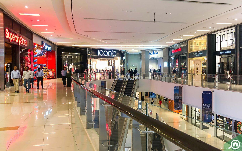 iconic store in Dubai Marina Mall