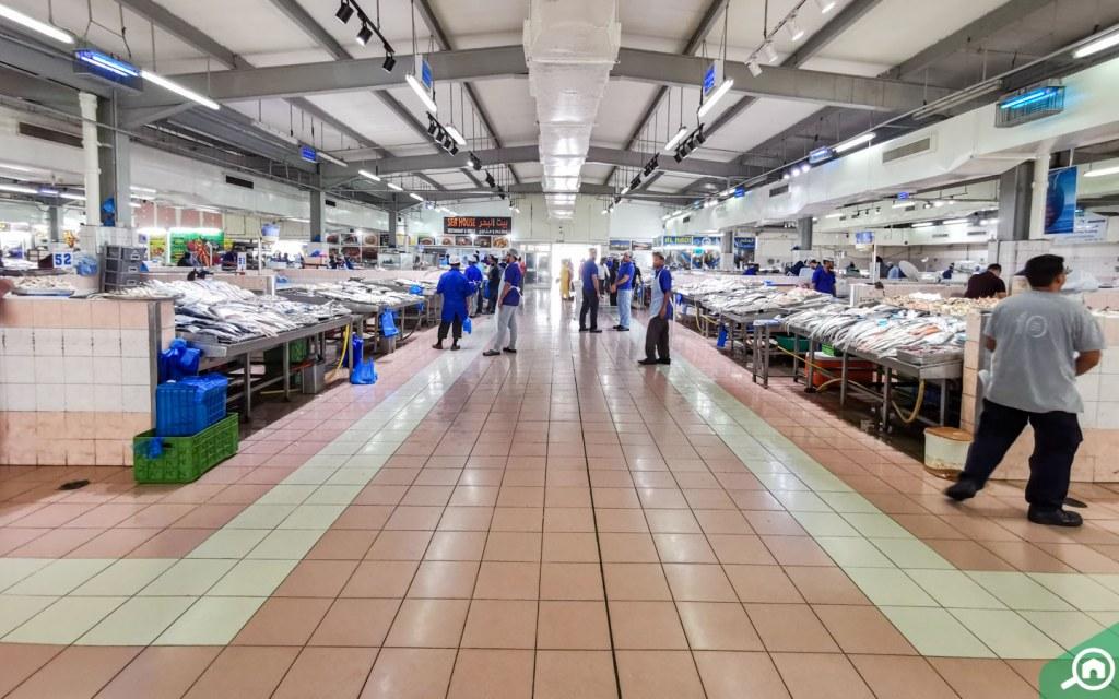 سوق السمك ابوظبي الميناء