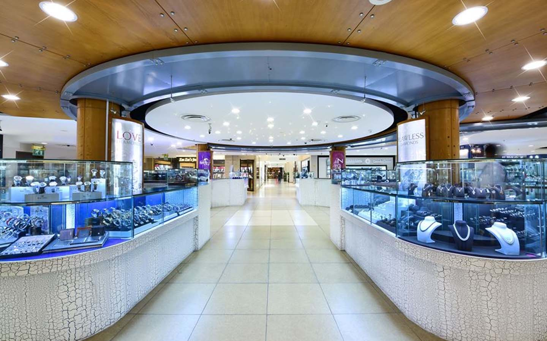 jewellery store at Dubai Gold and Diamond Park