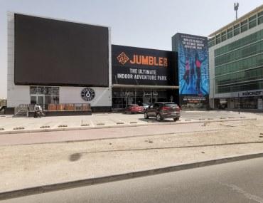 Entrance to Jumble Dubai