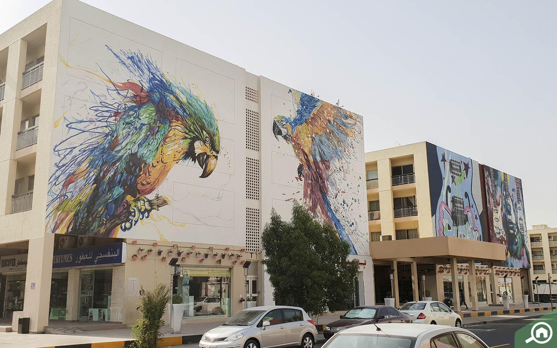 graffiti Walls in Karama