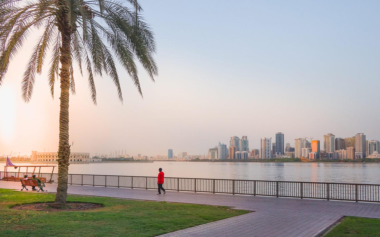 بحيرة خالد في الشارقة