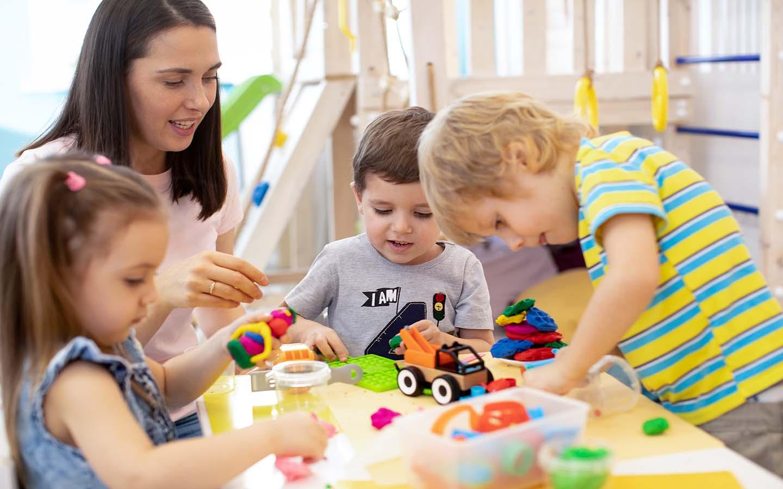 interactive play for kids at nurseries in Al Reem Island