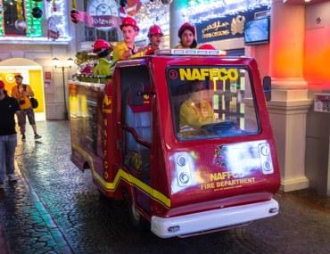 ألعاب الأطفال في مدينة كيدزانيا دبي