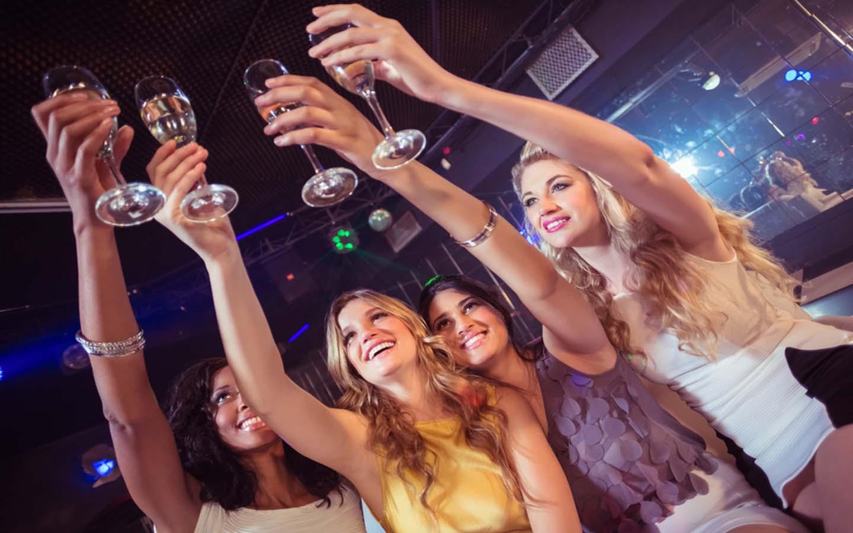 ladies night in bar