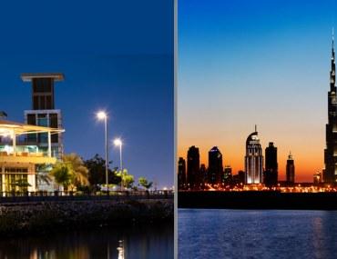 Ras Al Khaimah and Dubai