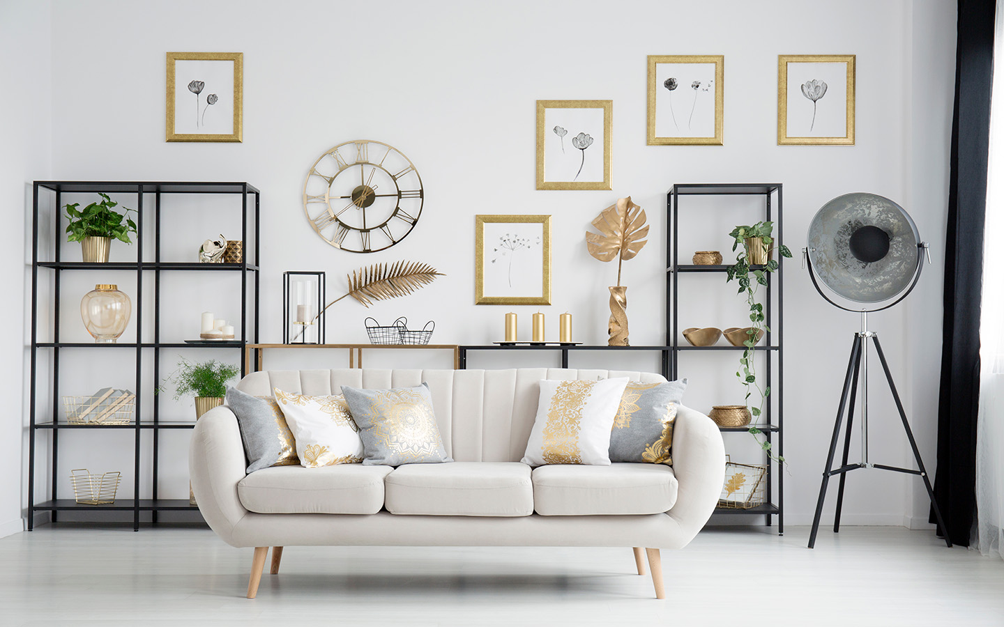 Gold Home Decor Ways To Add A Touch Of Gold To Your Rooms Mybayut