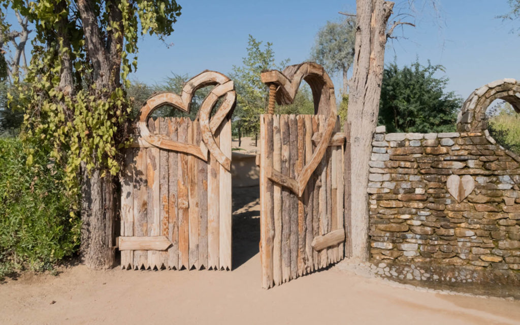 Gate of the lake of love