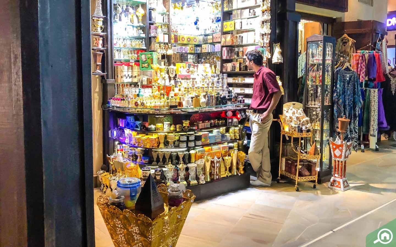 souvenir store in souk madinat jumeirah