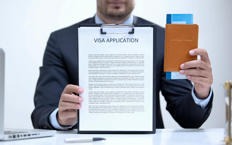 Immigration visa application