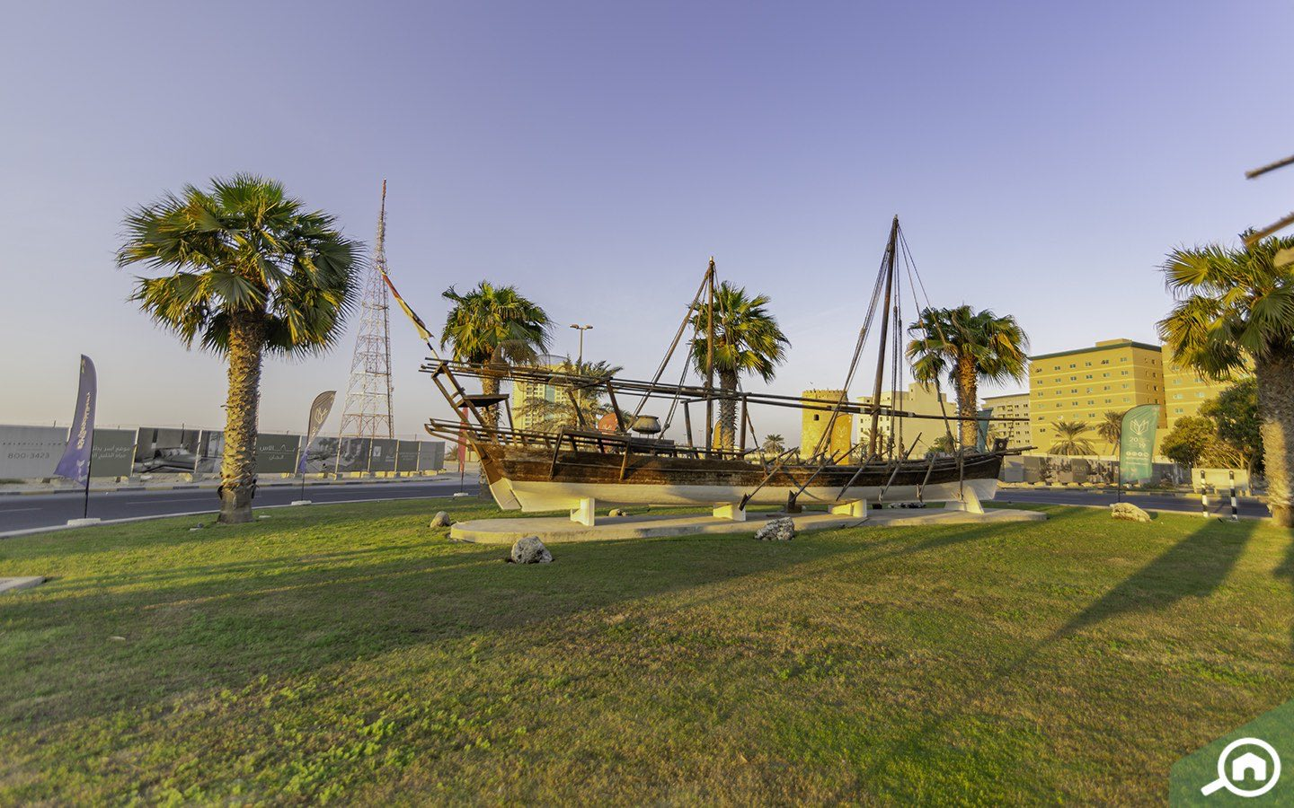 dhow at Sharjah Maritime Museum