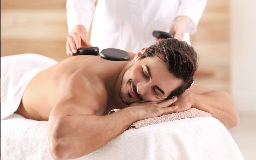 Massage session