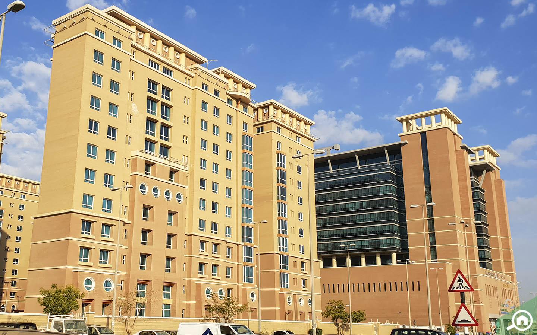 apartment buildings in MBZ City