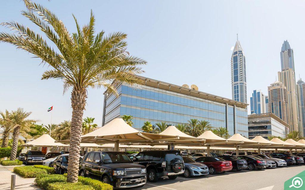 مواصلات في مدينة الاعلام في دبي