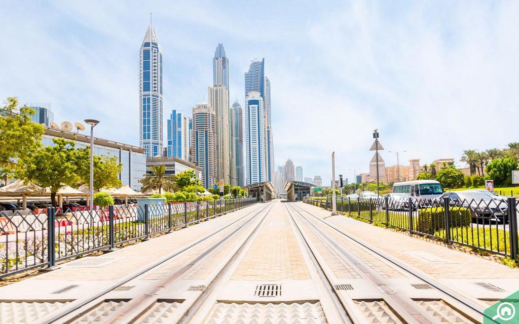 إطلالة في مدينة دبي للإعلام
